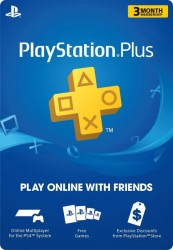 3 Month PlayStation Plus Membership - PS3/ PS4/ PS Vita, Digital Code