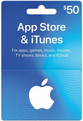 App Store & iTunes Gift Cards - Design May Vary