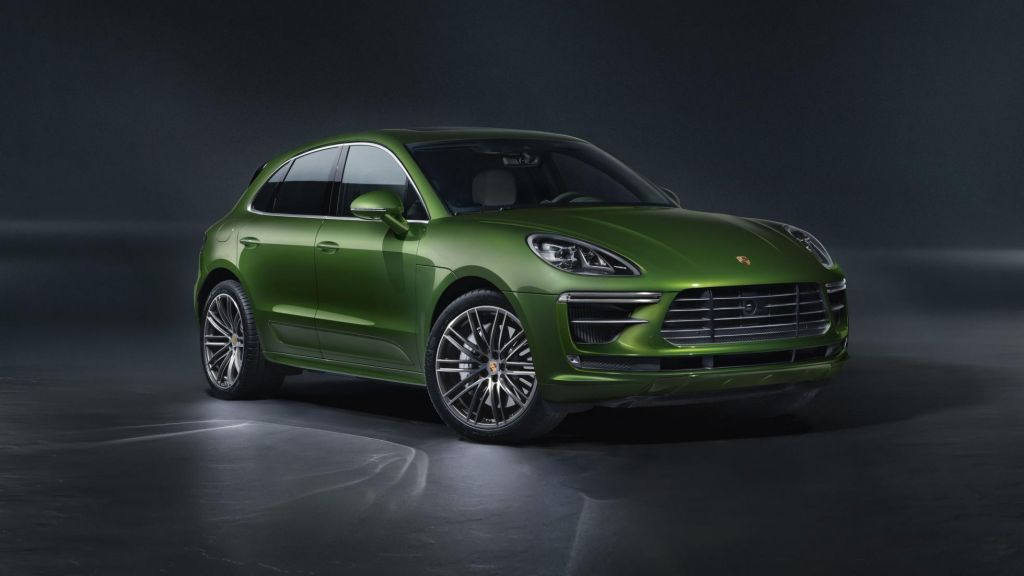 The Porsche Macan Turbo